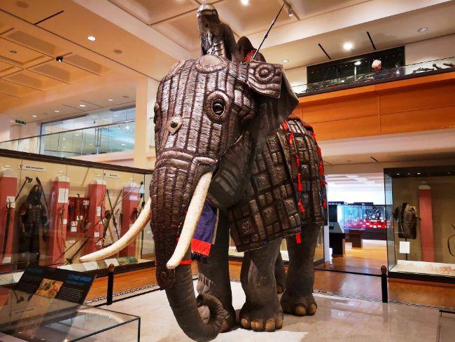 Elephant Armour at the Royal Armouries Leeds