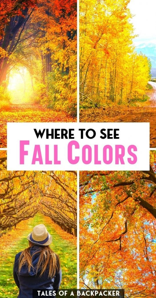 Where to See Fall Colors in the US in the USA