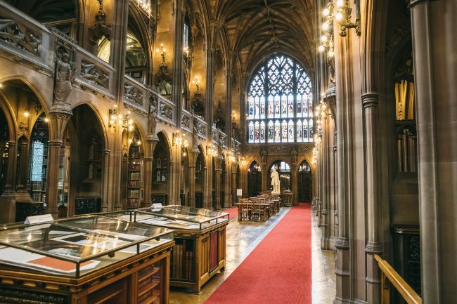 Inside John Rylands Library - Things to do in Manchester