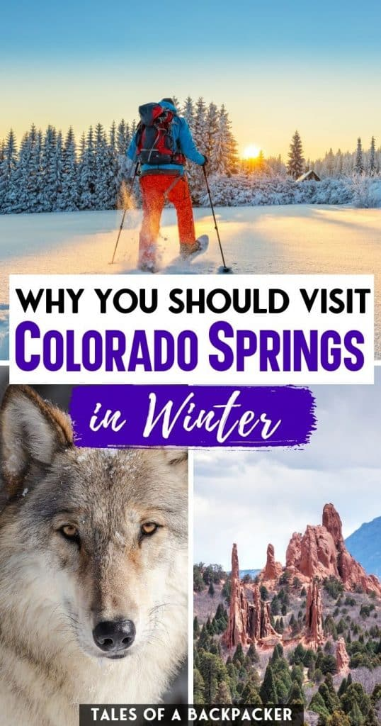 Why You Should Visit Colorado Springs in the Winter