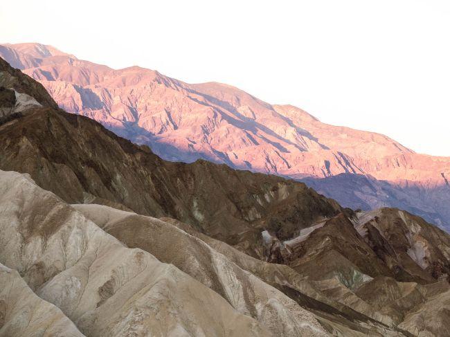 Death Valley National Park in Spring - Zabriskie Point